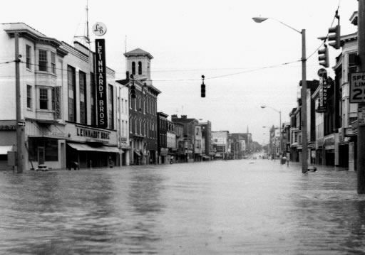Hurricane Agnes June 22, 1972  York, PA  Who new that would be the first of a few hurricanes I experienced before moving to Fl. I was 6 at the time.  :-)