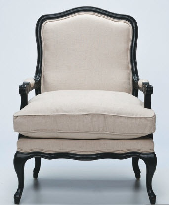No secret I love chairs, clocks and big mirrors, this chair is a gorgeous timeless piece. ...Living Room, Linens Club, Beautiful Furniture, Maison Living, Club Chairs, Henrietta Linens, Products, Living Henrietta, Chairs 790