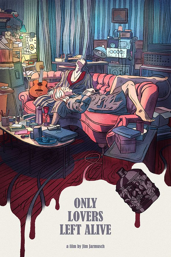 ONLY LOVERS LEFT ALIVE POSTER on Student Show