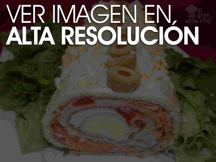 Facil arrollado de atún: Of Tuna, Tuna, Mexican Food, Recetas Faciles, Arrollado De, Facil Arrollado, Rich Meal