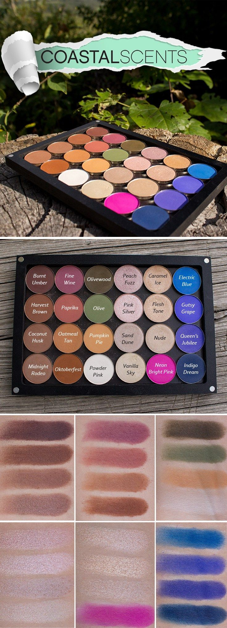 Coastal Scents Hot Pots review and swatches                                                                                                                                                                                 More