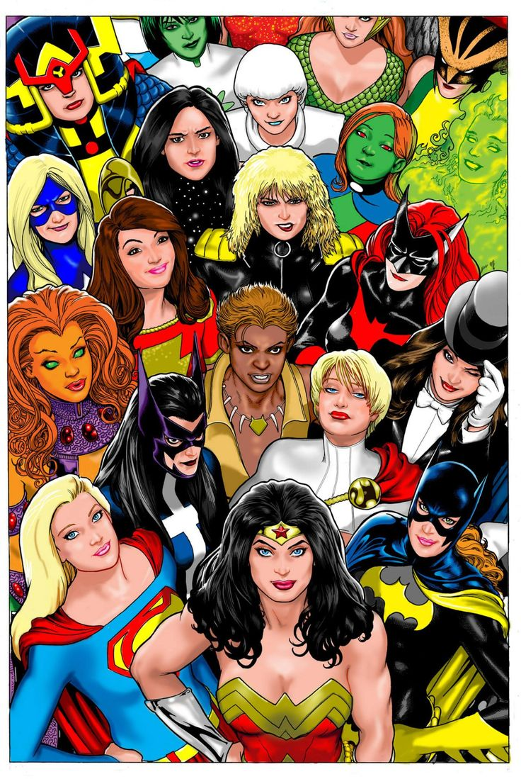 Women of DC by Kevin Maguire *