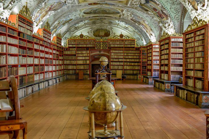 https://flic.kr/p/BX6yyL | Strahov Monastery Library | Prague, Czech Republic