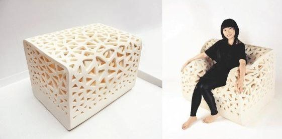 Shape-shifting 'Breathing Chair' looks to make the beanbag fashionable