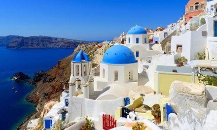 Santorini à SANTORINI : ✈ Santorin : 5 nuits en hôtel, all inclusive, vols A/R inclus: En promotion à 509.00€.