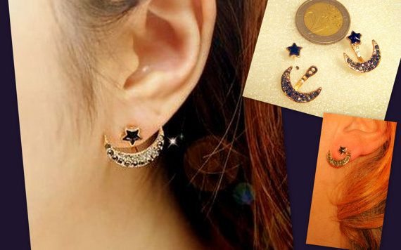 Trendy Stud Jackets EarringsDouble side ear by MyyyPreciousss