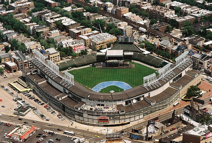 Wrigley Field is a baseball venue located in Chicago, Illinois, United States that has served as the home ballpark of the Chicago Cubs since 1916. It was built in 1914 as Weeghman Park for the Chicago Federal League baseball team, the Chicago Whales. It was called Cubs Park between 1920 and 1926 before being renamed for then Cubs team owner and chewing gum magnate, William Wrigley, Jr..