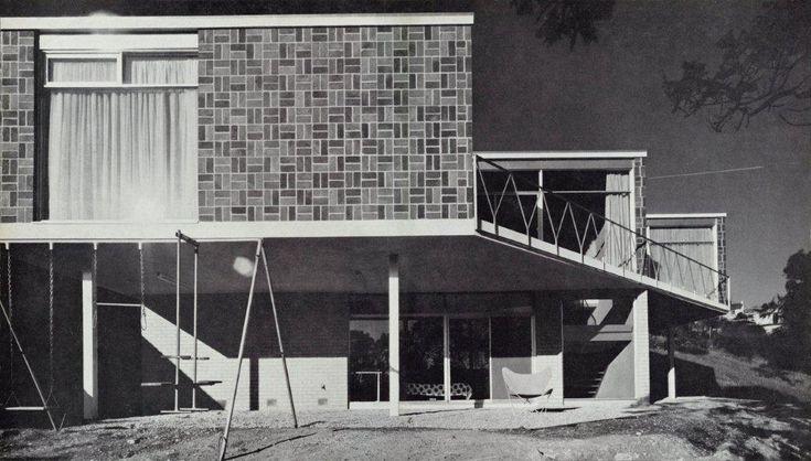 Biancardi House, Yarra Street. Melbourne, Australia 1961.