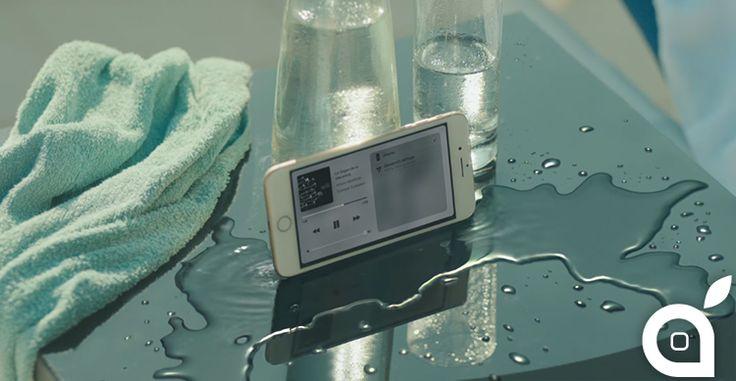 Apple pubblica Dive un nuovo spot dedicato ad iPhone 7 [Video]