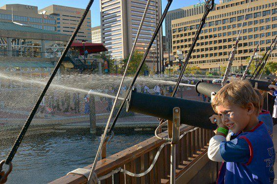 Urban Pirates Inner Harbor Baltimore. We did the Adult cruise where you can bring your own alcohol. They also had games where we did shots of some great tasting rum.