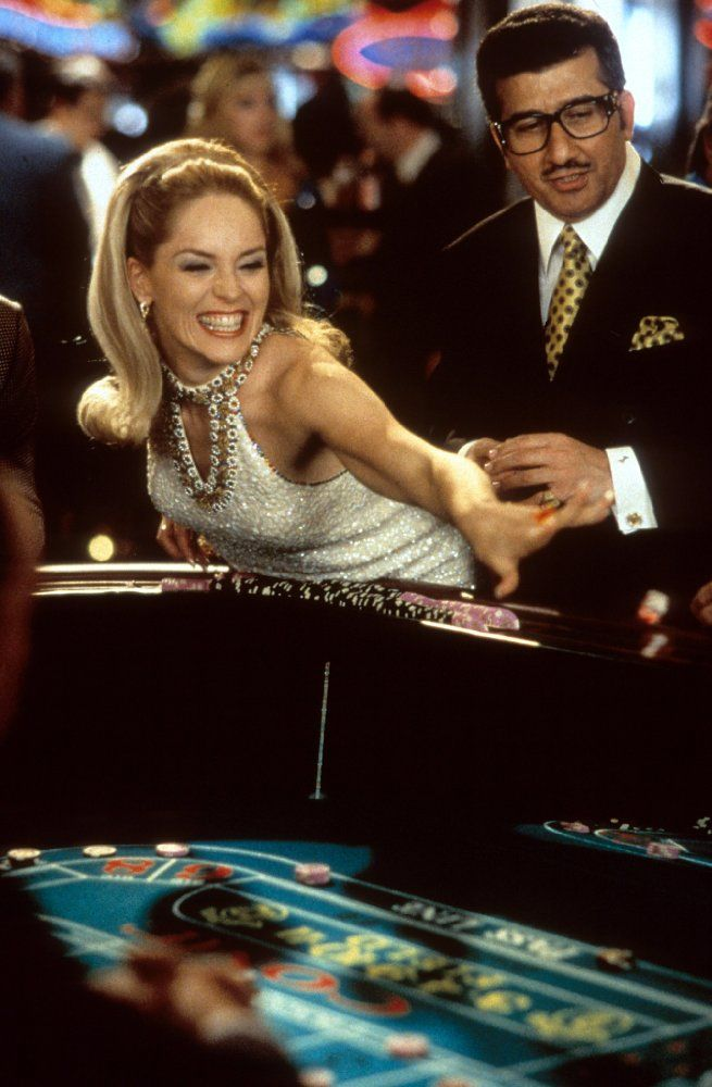 Directed by Martin Scorsese.  With Robert De Niro, Sharon Stone, Joe Pesci, James Woods. Greed, deception, money, power, and murder occur between two best friends, a mafia underboss and a casino owner, for a trophy wife over a gambling empire.