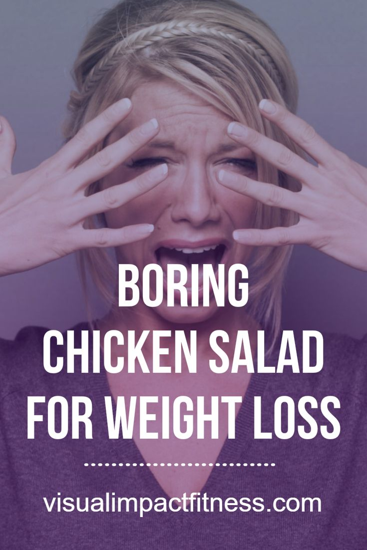 Although chicken salad day-after-day can be a bit boring, it's an effective meal for maintaining or losing weight. Here's my bland chicken salad recipe.  via @rustymoore