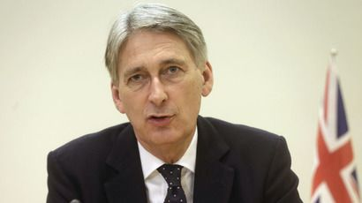 Russia, ISIS 'greatest threats' to UK security -  useless lying, warmongering Foreign Secretary Hammond - using double standards again Britain's Foreign Secretary Philip Hammond (Reuters/Ints Kalnins)