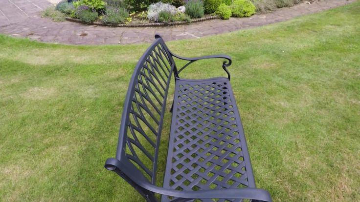 Aluminium Garden Furniture - Monastry Bench