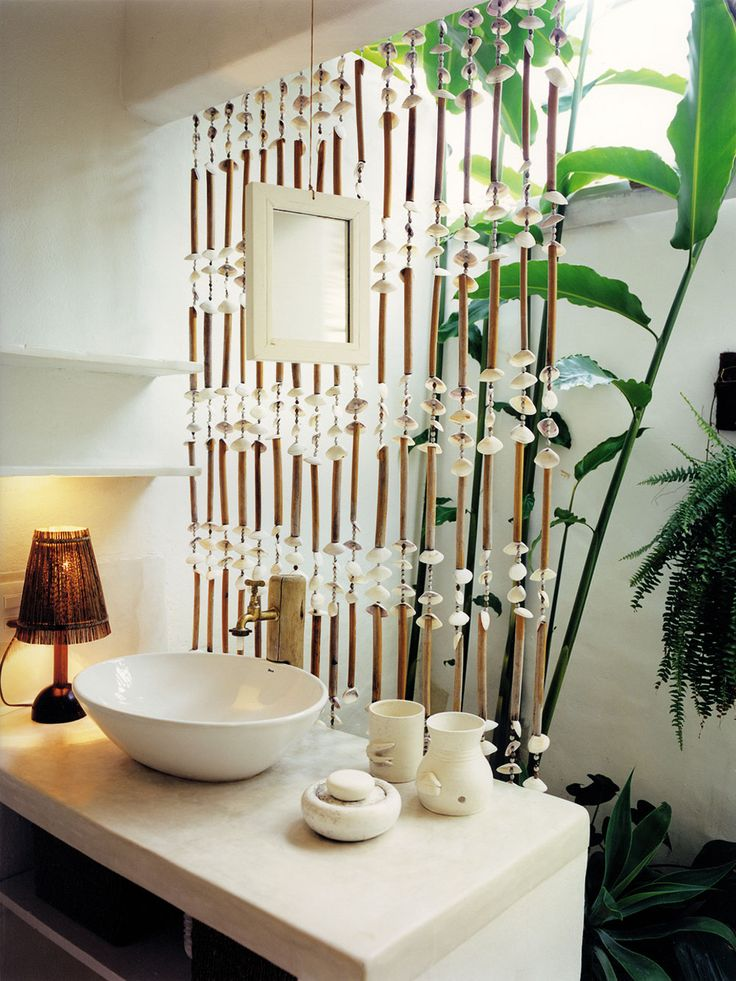 Bathroom At Casa Uxua Hotel In Trancoso Brazil Beach