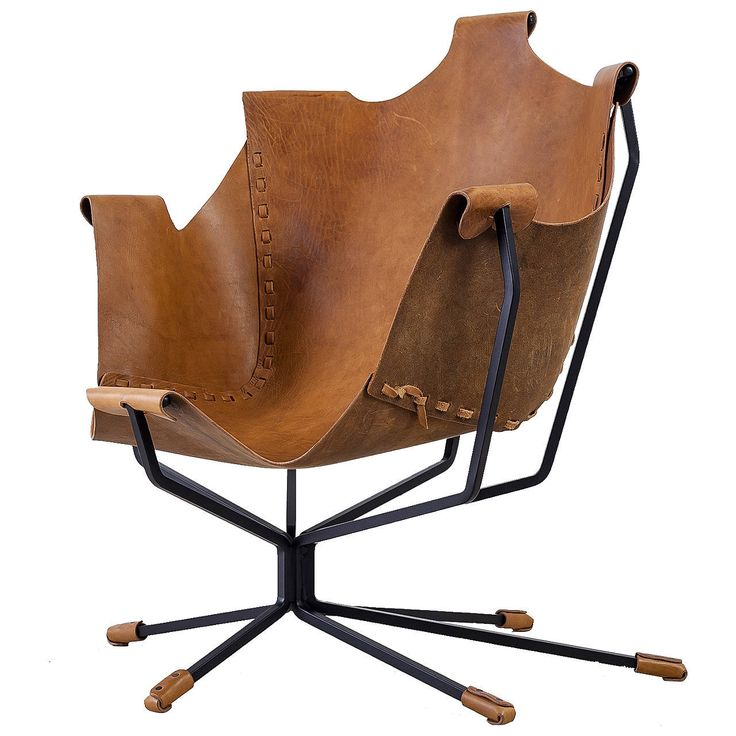 Elegant Special Edition Dan Wenger Sling Chair, USA, 1970s