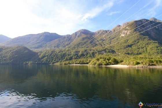 Lake Manapouri na Nova Zelândia 36