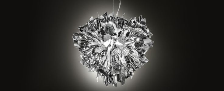 Veli Suspension Silver - Suspension Lamp ? Slamp http://www.slamp.it ...