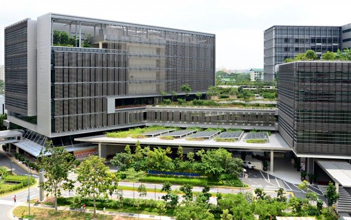 Khoo Teck Puat Hospital in Singapore by CPG Consultants Pte Ltd - Google Search