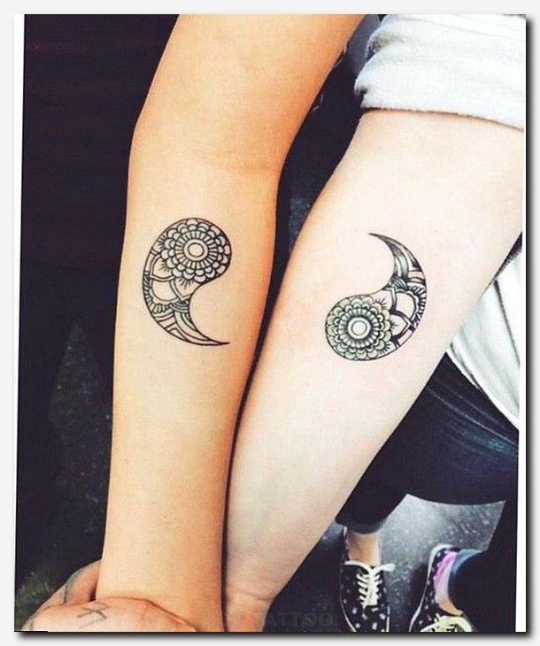 48 Best Matching tattoos for best Friends, Husband and Wife, Mother Daughter or Family
