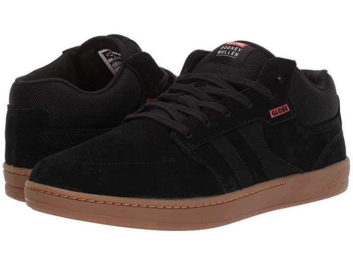 Globe Mens Octave Skate Shoe Leather Low Top Lace Up Skateboarding Shoes Athletic  Skateboarding