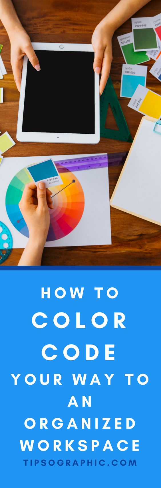 79 best productivity images on pinterest project management how to color code your way to an organized workspace fandeluxe Choice Image