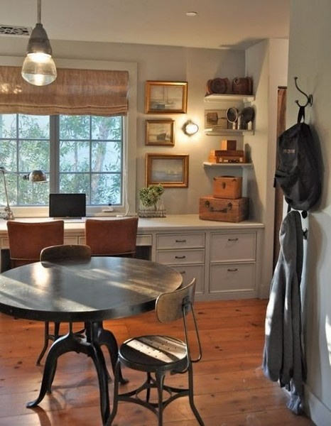 Patina Style {Brooke has great taste...even in a children's study!}