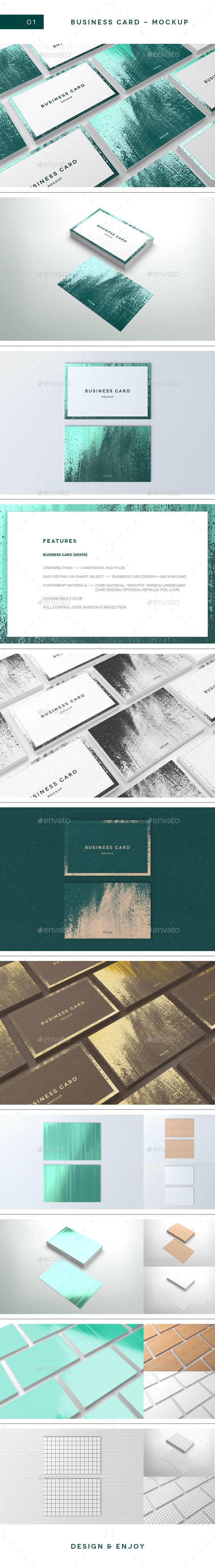 Business Card Mockup — Photoshop PSD #branding #presentation • Available here → https://graphicriver.net/item/business-card-mockup/18795582?ref=pxcr