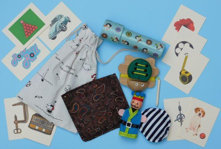 Gentlemens Tactile Activity and Rummage Bag