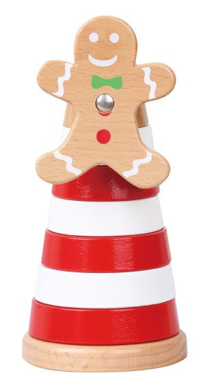 must have Xmas holidays toy for little ones - the Gingerbread Stackeroo from DiscoveroO! www.discoveroo.com