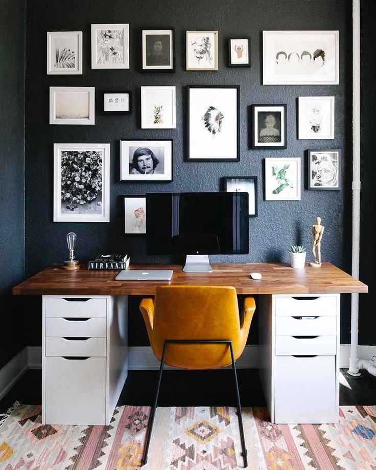 Home Office Inspiration Goals Organization tips Interior