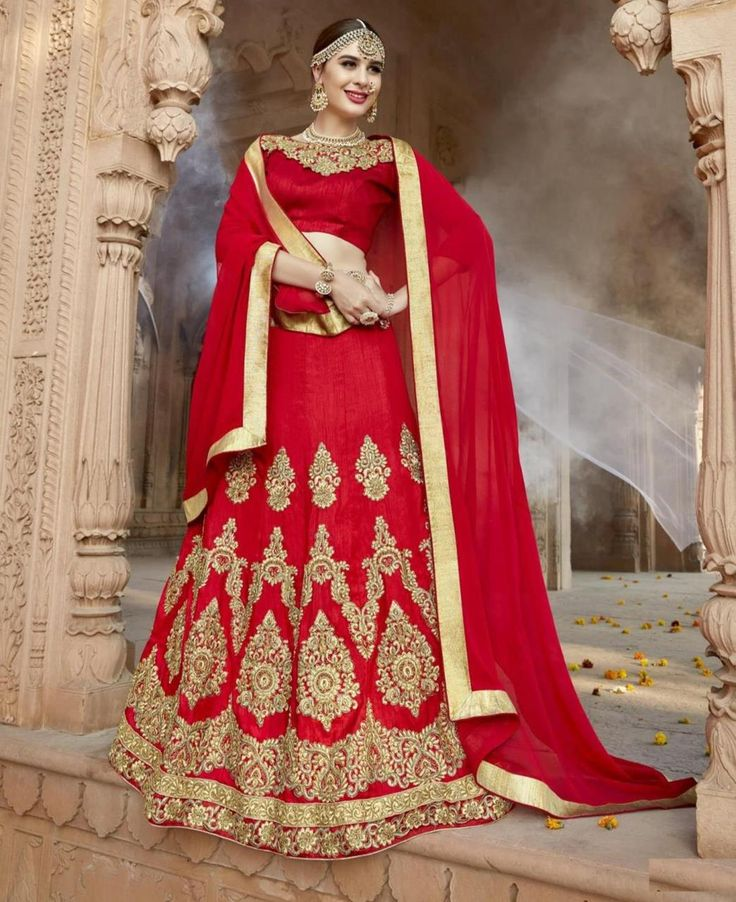 #hey @a1designerwear . Item code: FBZ3648 . Buy Magnificent Red #Lehenga #Choli #onlineshopping with #worldwideshipping at  https://www.a1designerwear.com/magnificent-red-lehenga-choli-24   . #a1designerwear #a1designerwear . #instashop #worldwide #thankyou