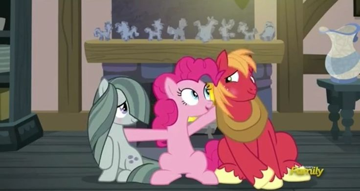 MLP, Marble Pie and Big Mac