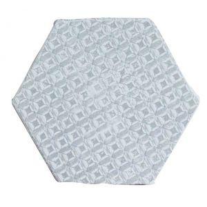 carrelage hexagonal mat gris 15 x 15 cm he0811012 hexagons and decor. Black Bedroom Furniture Sets. Home Design Ideas