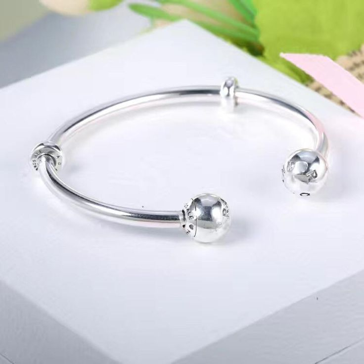 Great deal : NEW PANDORA BANGL...order today get price off here!http://www.charmsilvers.com/products/new-pandora-bangle-bracelet-16cm-17-5-cm-19cm?utm_campaign=social_autopilot&utm_source=pin&utm_medium=pin