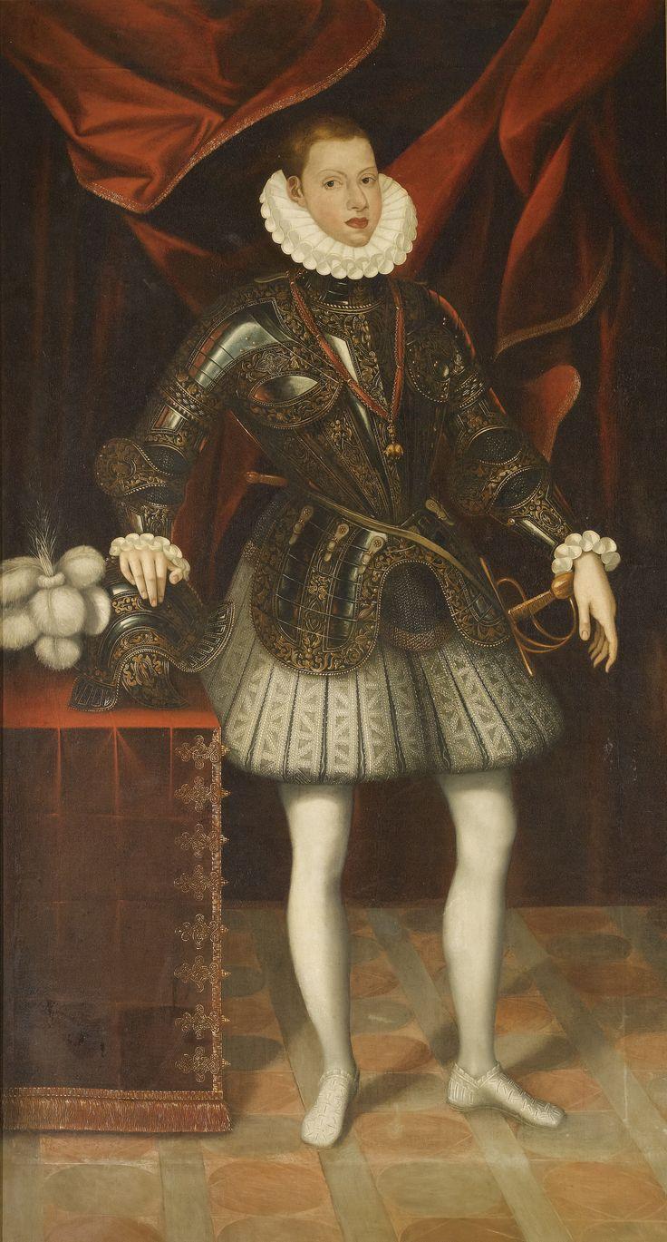 Philip III of Spain, c.1594 by a follower of Juan Pantoja de la Cruz
