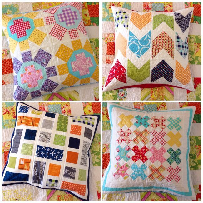 Aqua Reef Studios | the Quilt or Stitch Blog: European Pillow Shams