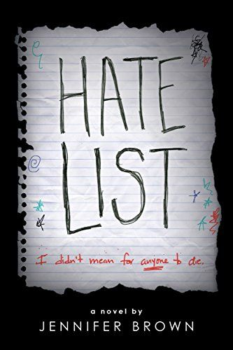 Jennifer Brown's Hate List is a popular young adult book worth reading next.