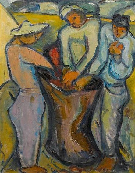 Irma Stern (1894-1966) was een belangrijke Zuid-Afrikaanse kunstenaar. Na de (boeren)oorlog keerde het gezin terug naar Duitsland. Deze verhuizing en latere reizen zou Irma's werk  beïnvloeden. In 1913 studeerde ze kunst in Duitsland met Max Pechstein. Stern werd in verband gebracht met de Duitse expressionistische schilders uit deze periode. In 1920 keerde Stern met haar familie terug naar Kaapstad, waar ze eerst werd bespot, voordat zij een gevestigde kunstenaar werd van de jaren 40.
