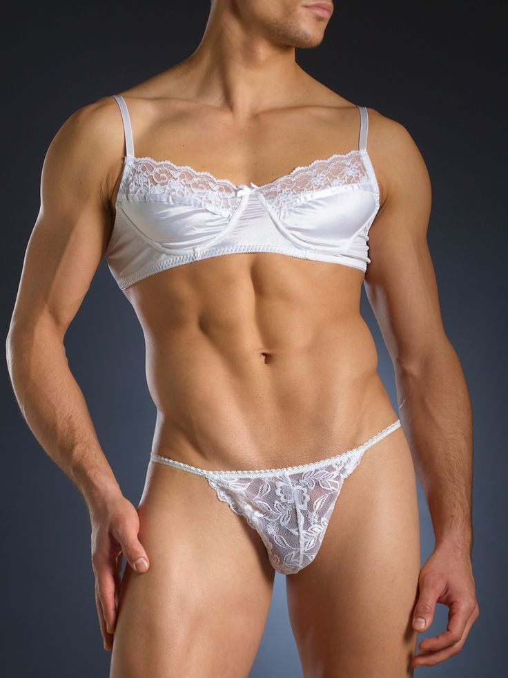 Satin Lingerie For Men 40