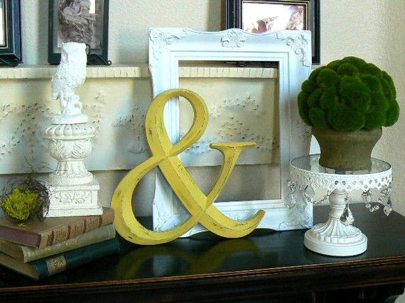 Ampersand Wall Decor 109 best ampersands & things to hang on the wall.. images on pinterest