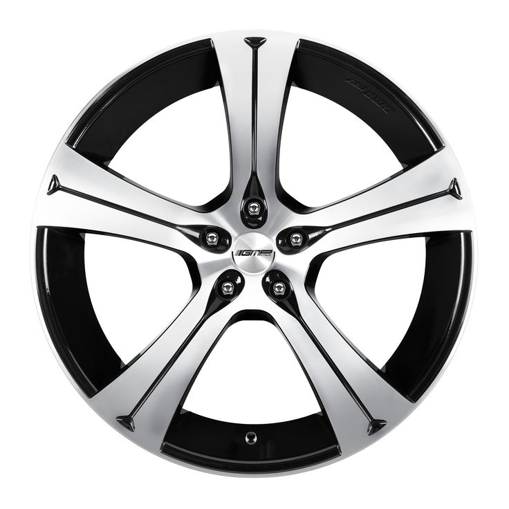 Buran Black Diamond Professional Alloy wheel / Cerchio in lega professionale Buran Nero Diamantato Front