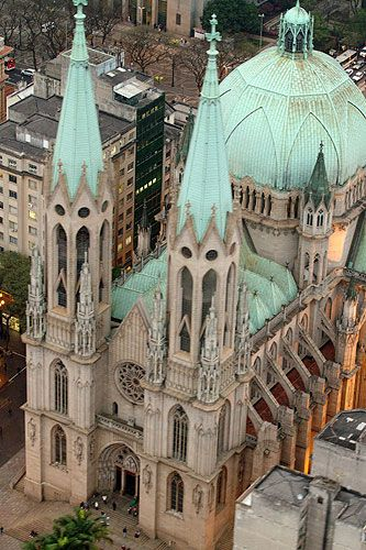 Cathedral of Saint Paul Brazil / Catedral da Sé São Paulo - Brazil