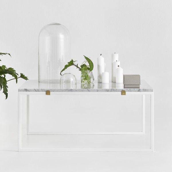 Soffbord i Grön marmor - Betonggruvan