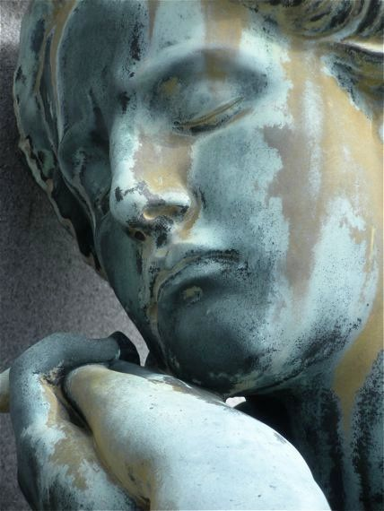Sorrow, 2009,   Metairie Cemetery in New Orleans