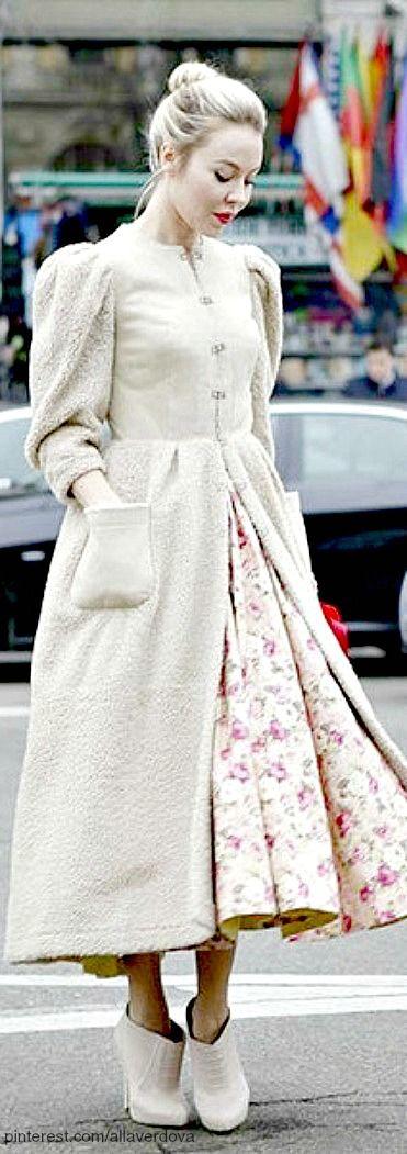 Street style - Ulyana Sergeenko