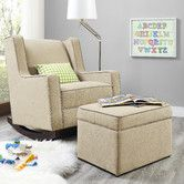 Found it at Wayfair - Baby Relax Abby Rocking Chair and Ottoman