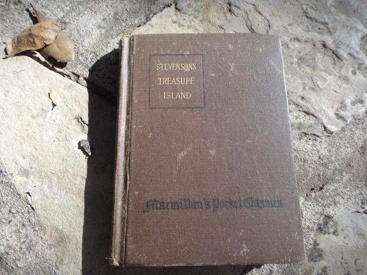 Tresure Island Macmillans Pocket Classics. $10.00, via Etsy.
