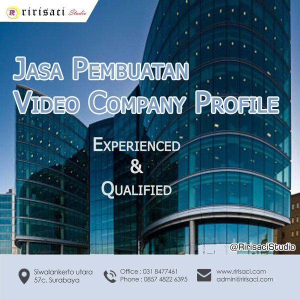 Jasa Pembuatan Video Company Profile 031 8477461 Harga mulai 3.5Jt @RirisaciStudio http://bit.ly/VideoShootingRIRISACI #Surabaya #RirisaciStudio #VideoCompanyProfile