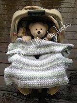 PDF Crochet cozy carseat blanket by HatsandMorebyJackie on Etsy, $4.00